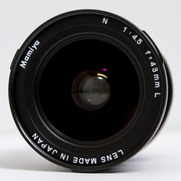 Mamiya-43mm-Front-Element