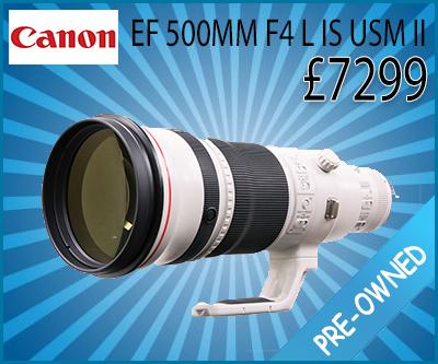 Canon EF 500mm II